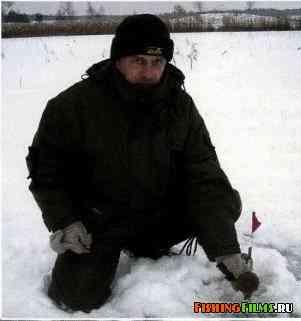 Жерлица зимой видео