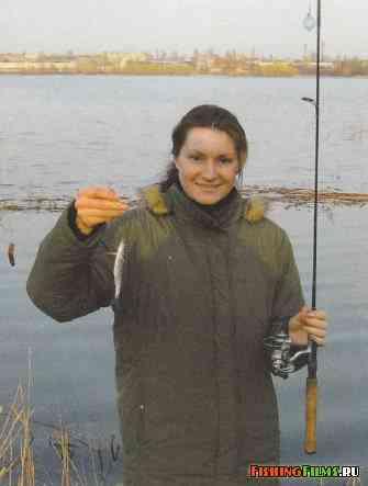 рыбалка на водоналивной