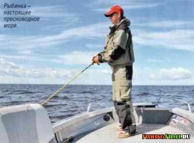рыбалка с лодки на рыбинском водохранилище